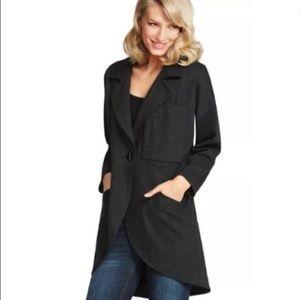 Çabi #994 long blazer jacket charcoal size large